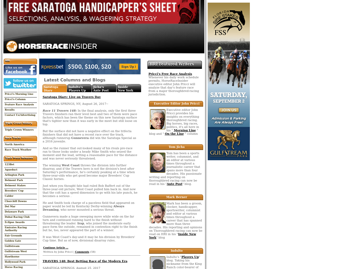 Horseraceinsider-Advertising-Reviews-Pricing