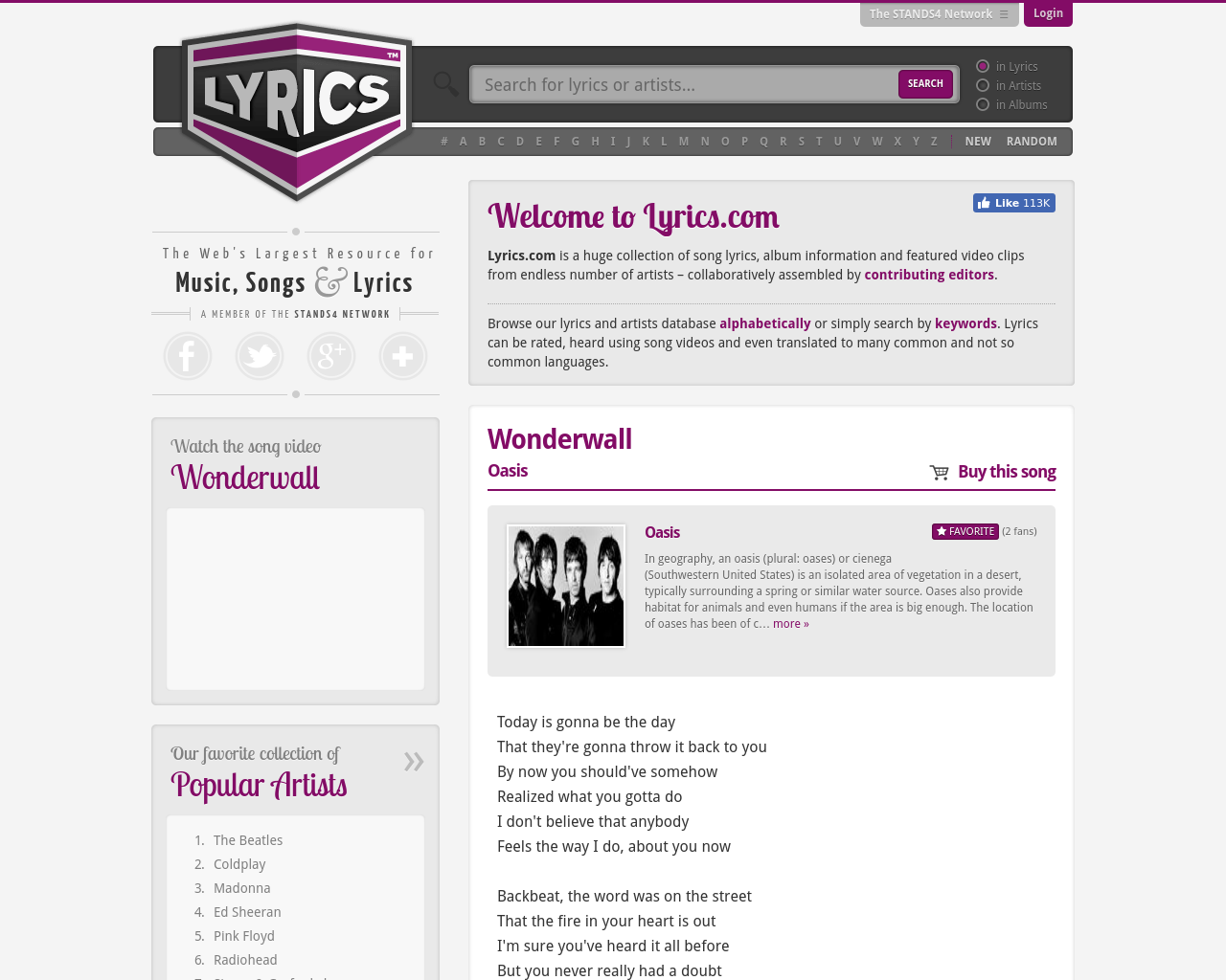 Lyrics-Advertising-Reviews-Pricing