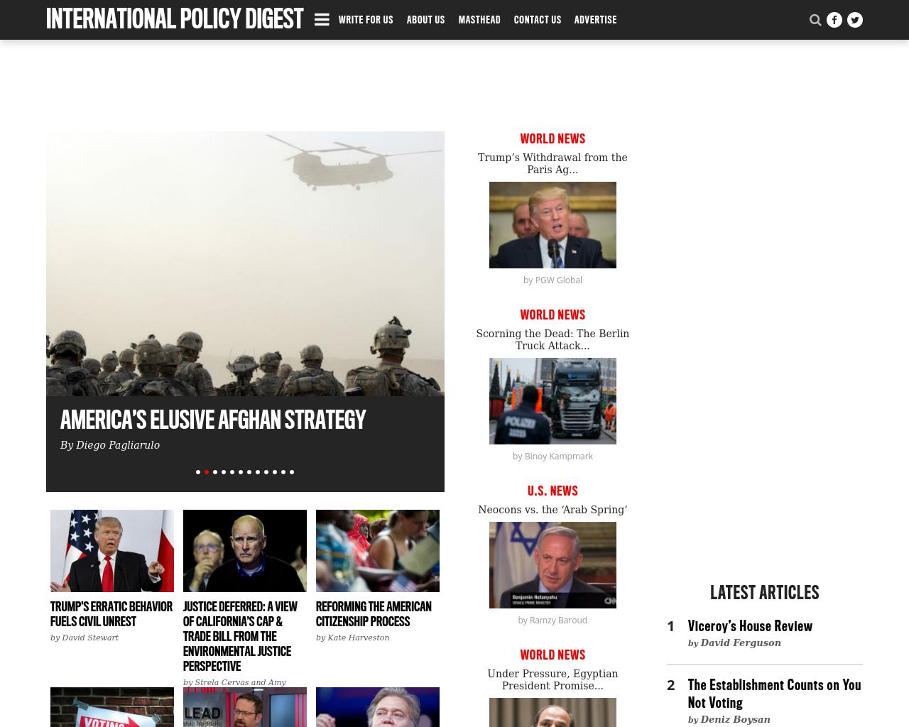 Internationalpolicydigest-Advertising-Reviews-Pricing