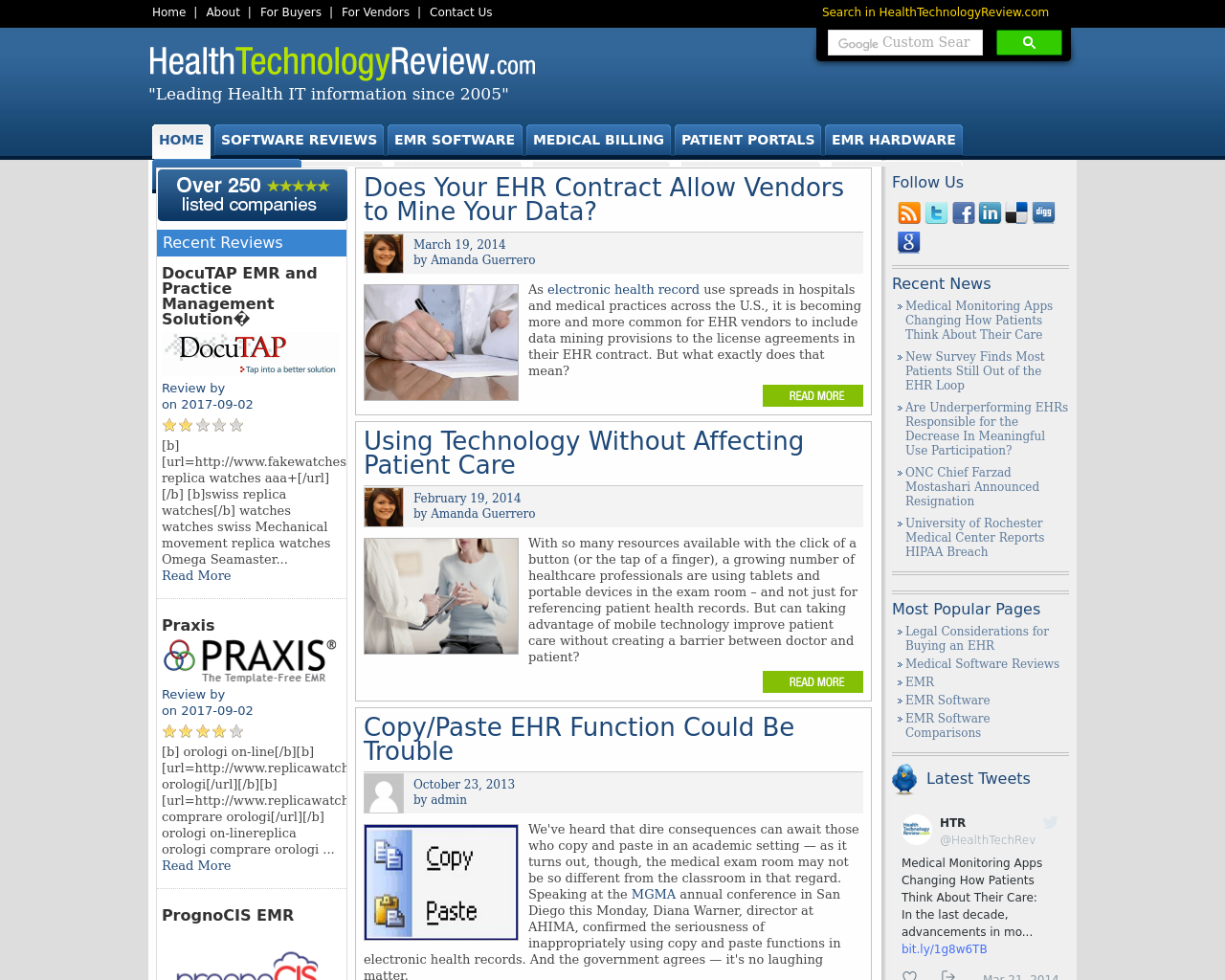 Health-Technology-Review-Advertising-Reviews-Pricing