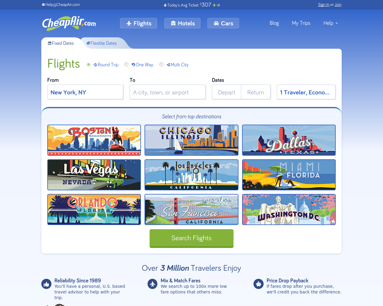 CheapAir-Advertising-Reviews-Pricing