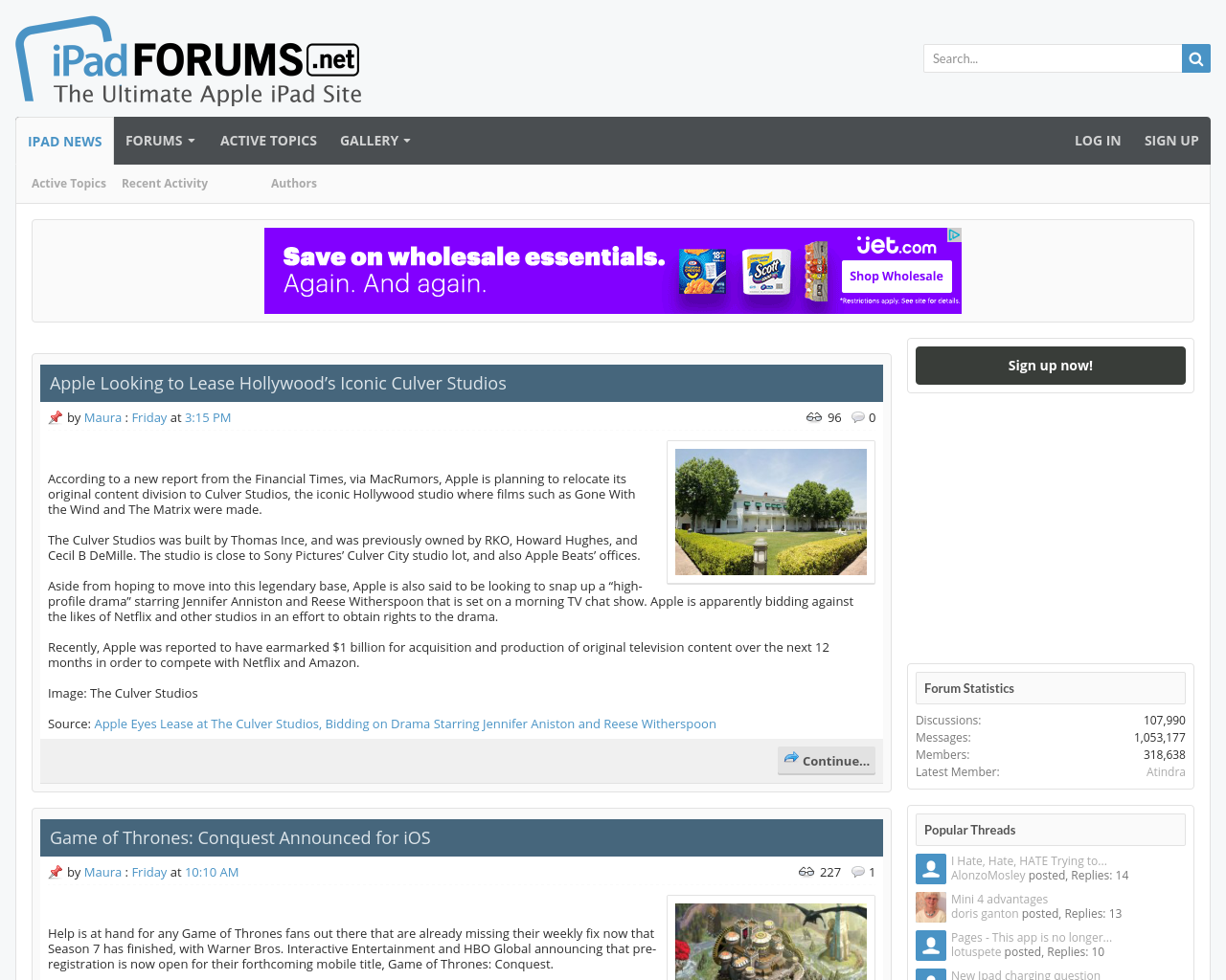 Ipad-Forums-Advertising-Reviews-Pricing