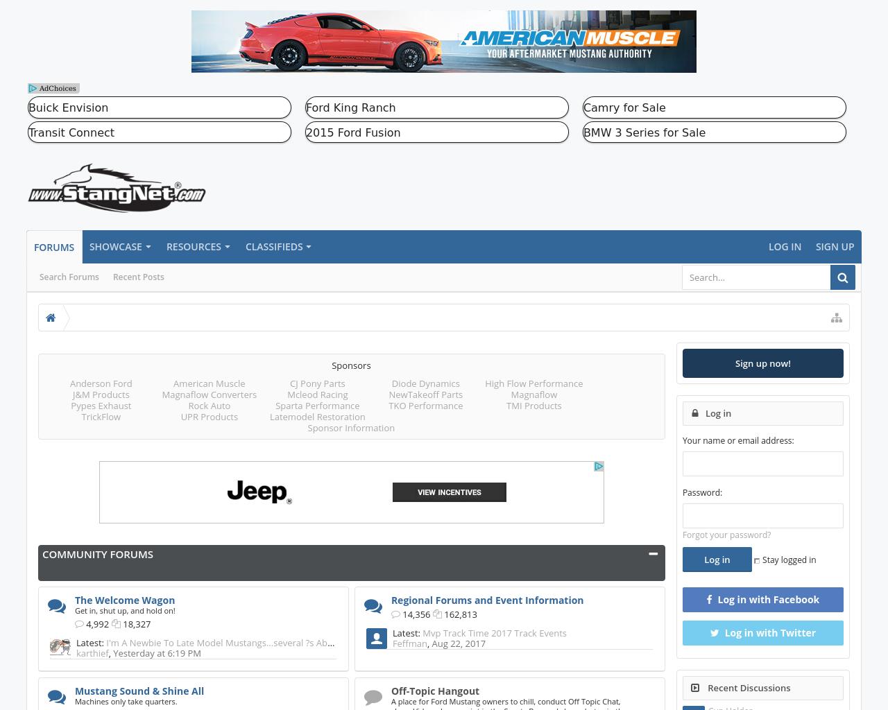 www.StangNet.com-Advertising-Reviews-Pricing