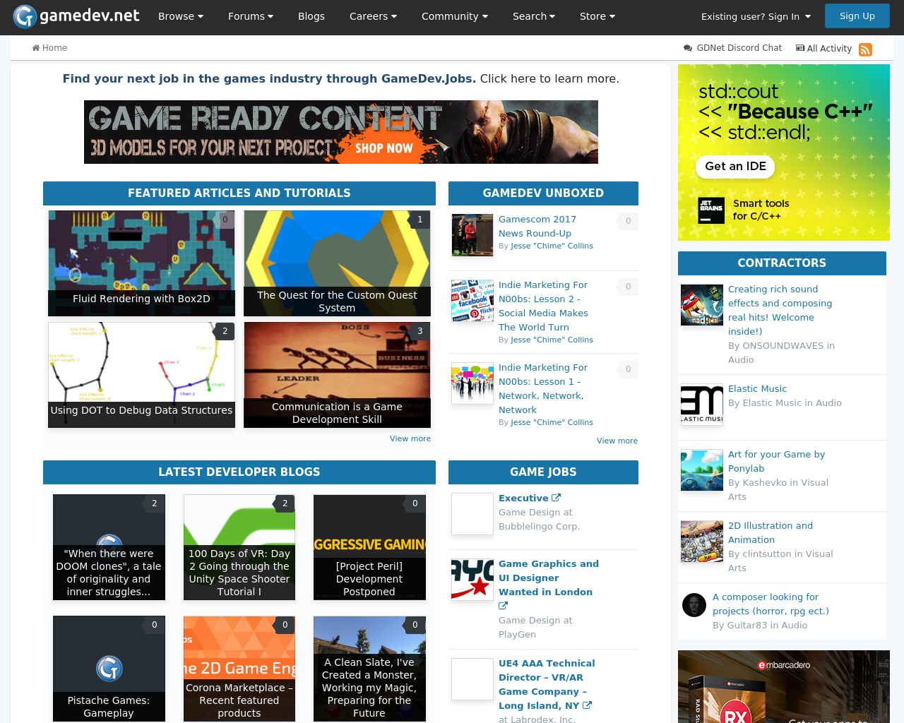GameDev.net-Advertising-Reviews-Pricing