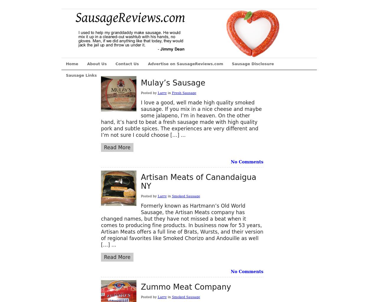 SausageReviews.com-Advertising-Reviews-Pricing