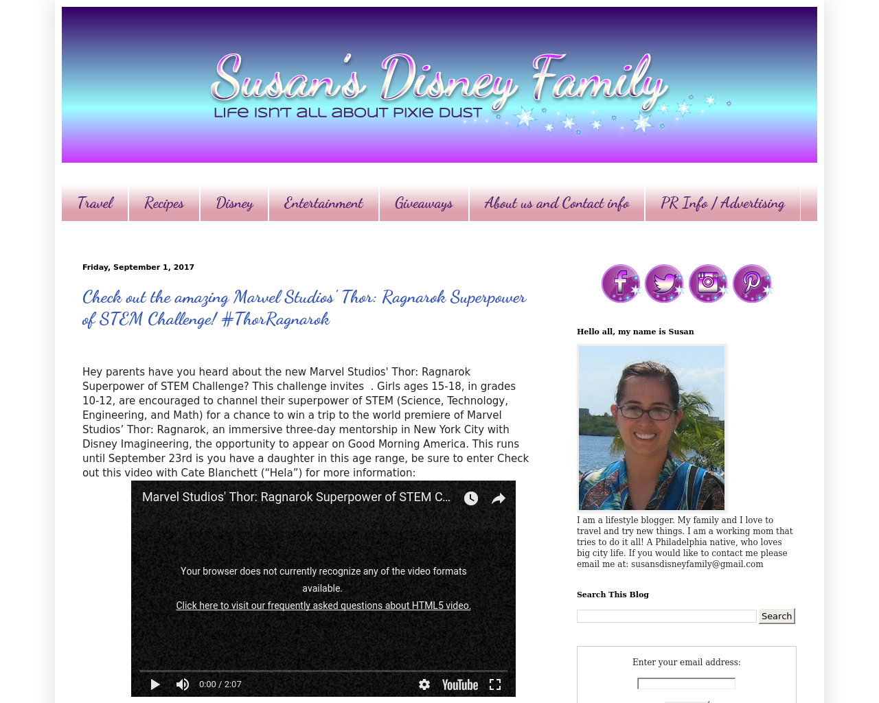 Susan's-Disney-Family-Advertising-Reviews-Pricing