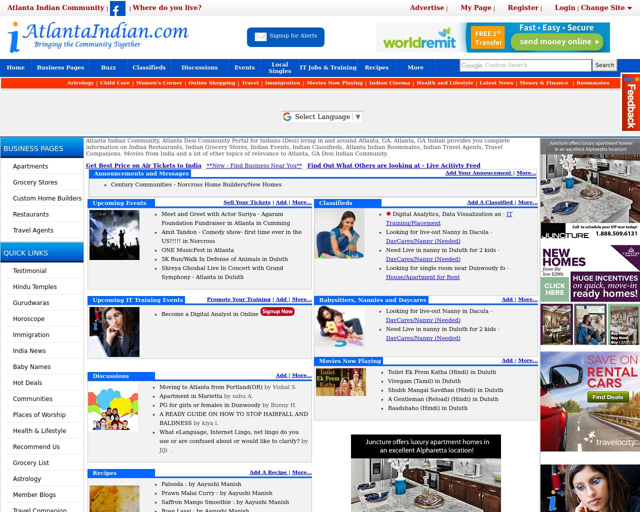 AtlantaIndian.com-Advertising-Reviews-Pricing