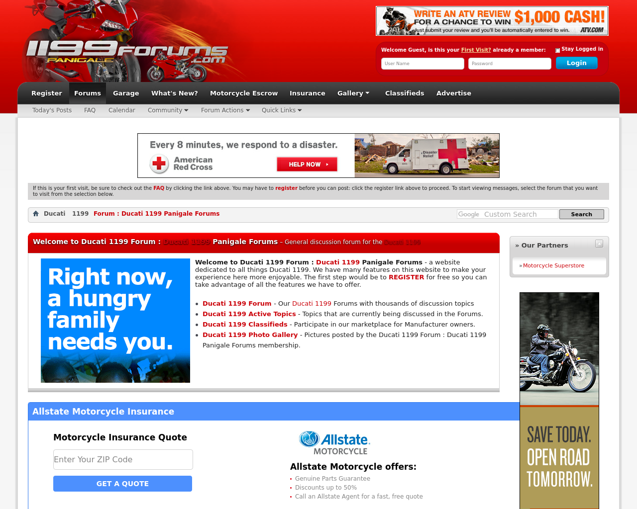 1199forums.com-Advertising-Reviews-Pricing
