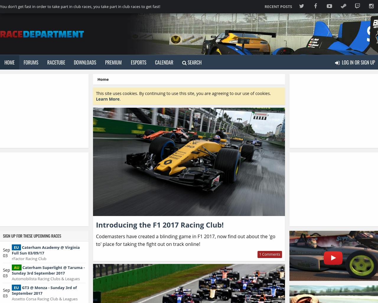 RACEDEPARTMENT-Advertising-Reviews-Pricing