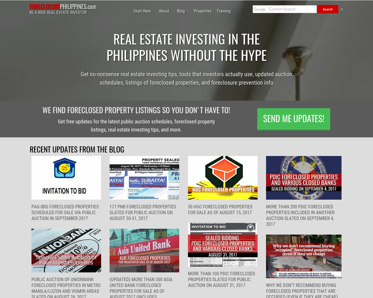 Foreclosure-Philippines-Advertising-Reviews-Pricing