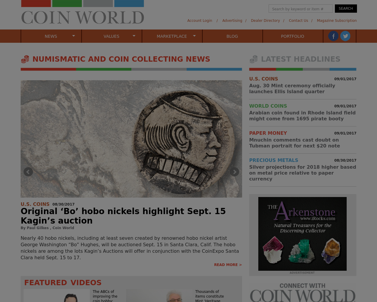 Coinworld.com-Advertising-Reviews-Pricing