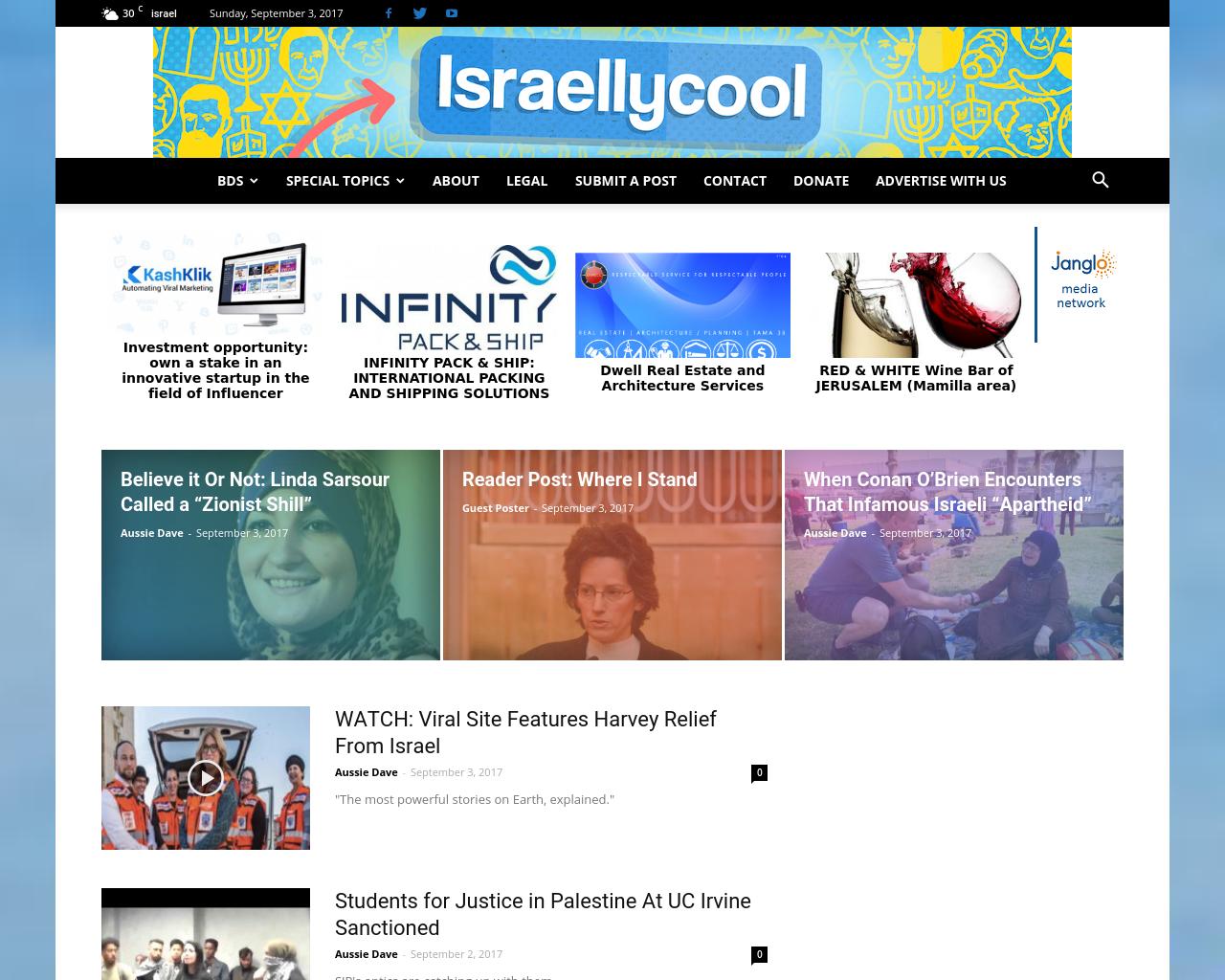 Israellycool-Advertising-Reviews-Pricing