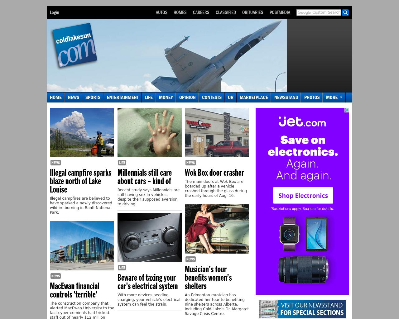 Coldlakesun.com-Advertising-Reviews-Pricing