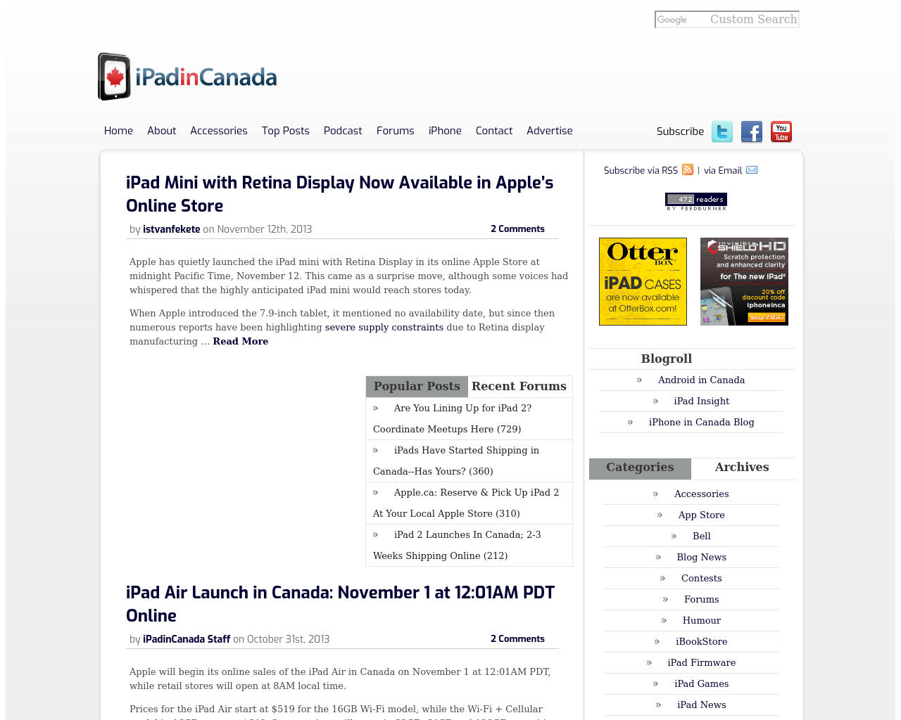 IPadinCanada-Advertising-Reviews-Pricing