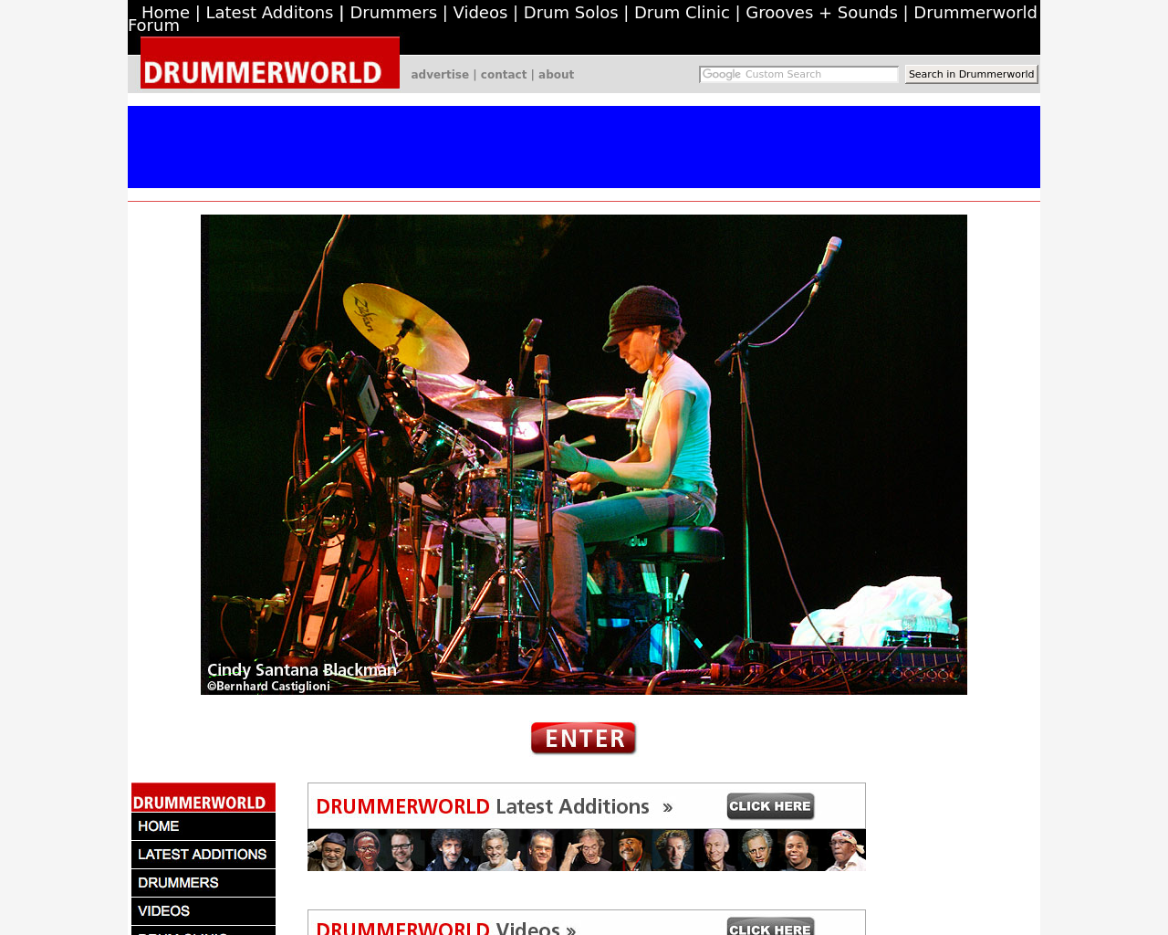 Drummerworld.com-Advertising-Reviews-Pricing
