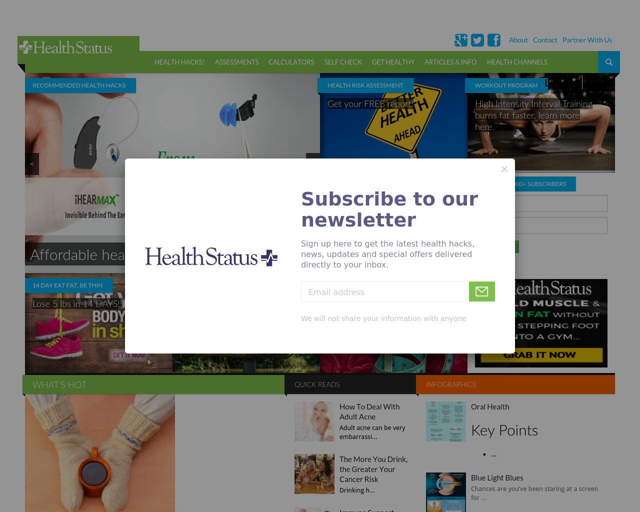 Health-Status-Advertising-Reviews-Pricing