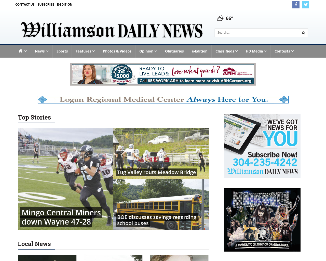 Williamson-Daily-News-Advertising-Reviews-Pricing
