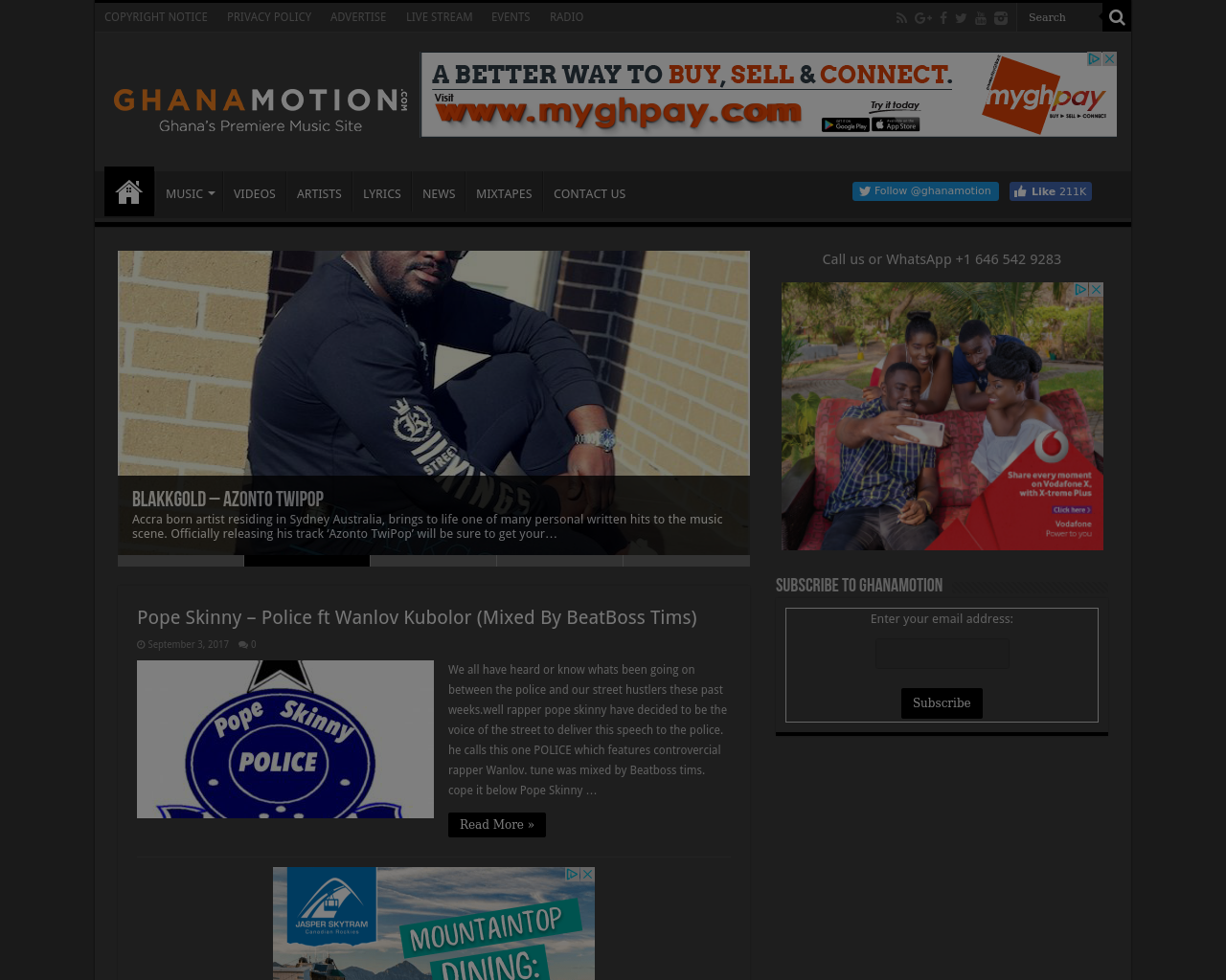 ghanamotion.com-Advertising-Reviews-Pricing