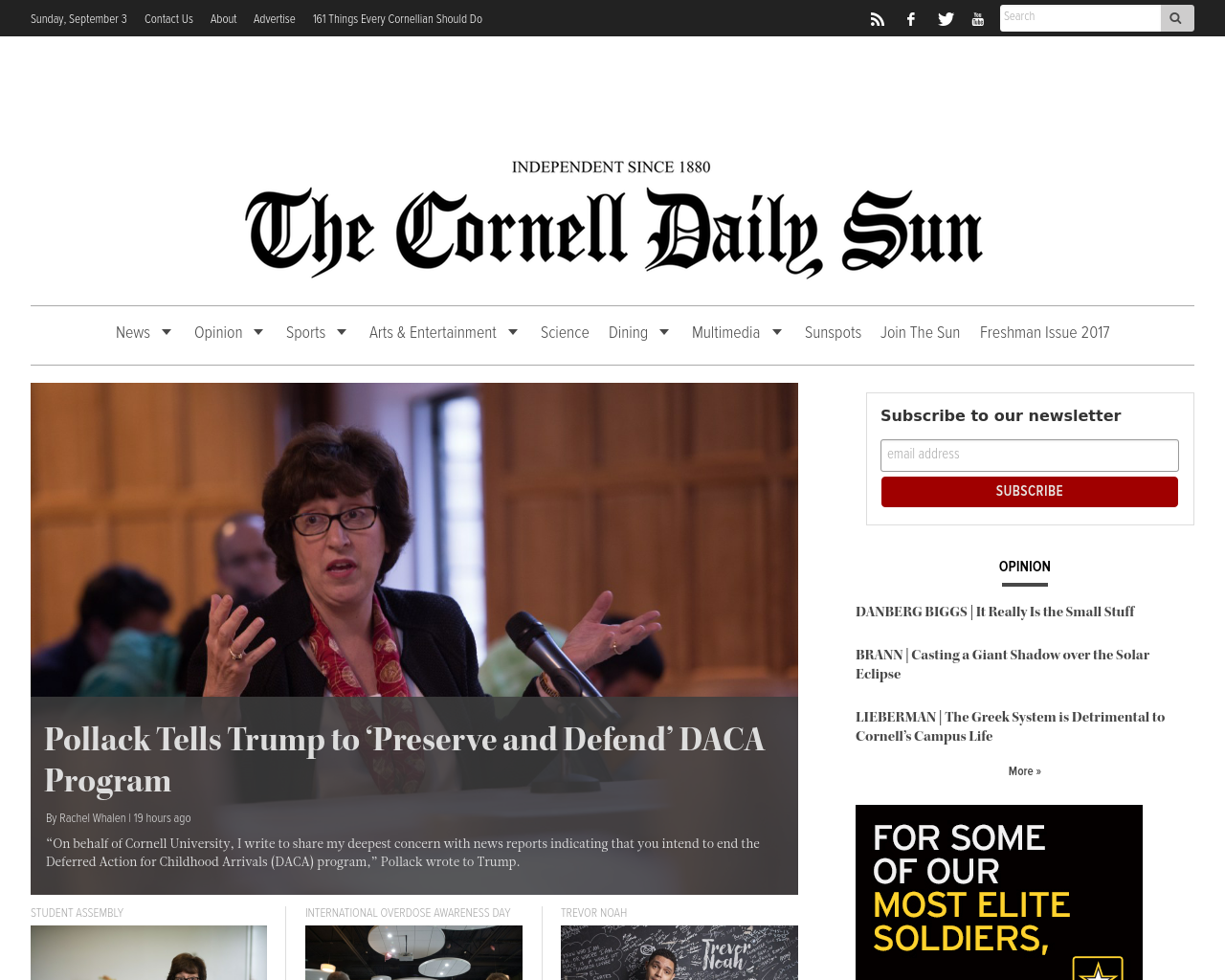 Cornell-Sun-Advertising-Reviews-Pricing