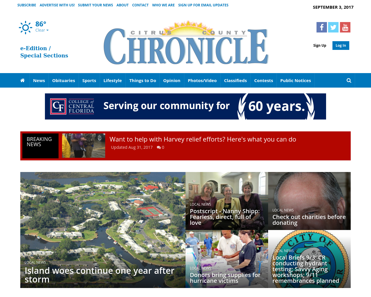 Chronicleonline.com-Advertising-Reviews-Pricing