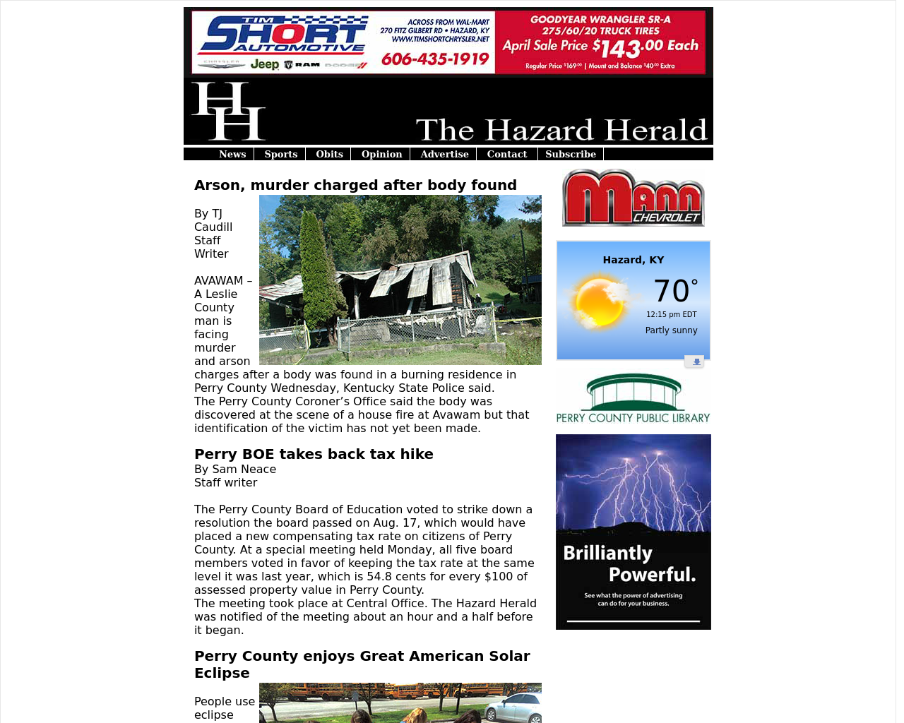 The-Hazard-Herald-Advertising-Reviews-Pricing