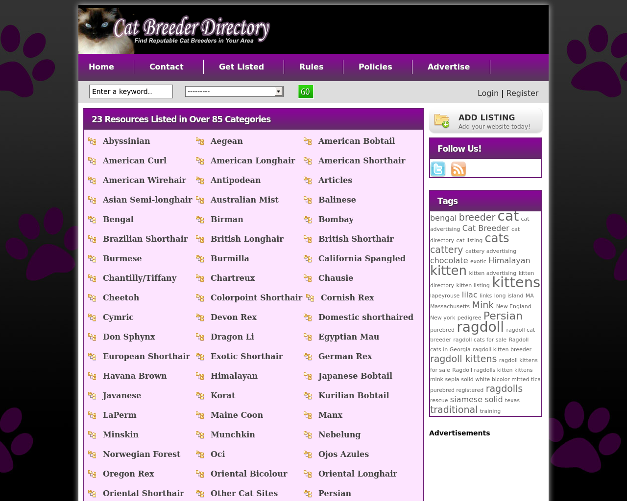 Cat-Breeder-Directory-Advertising-Reviews-Pricing