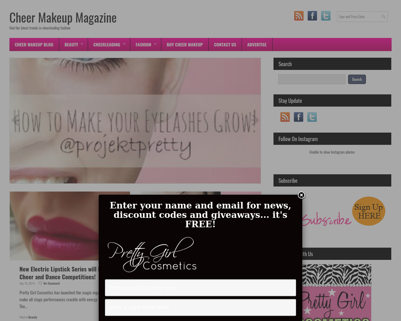 Cheer-Makeup-101-By-Pretty-Girl-Cosmetics-Advertising-Reviews-Pricing