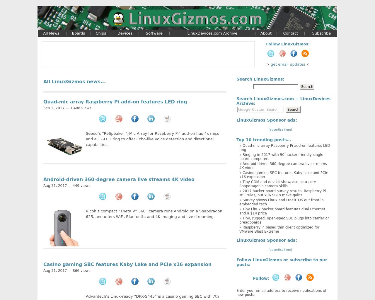 Linuxgizmos-Advertising-Reviews-Pricing