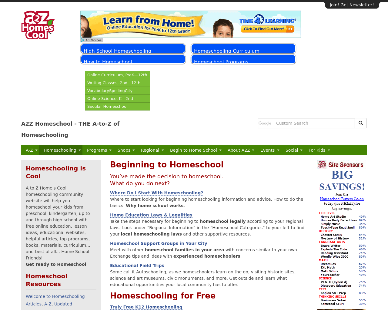 A2Z-Homeschooling-Advertising-Reviews-Pricing