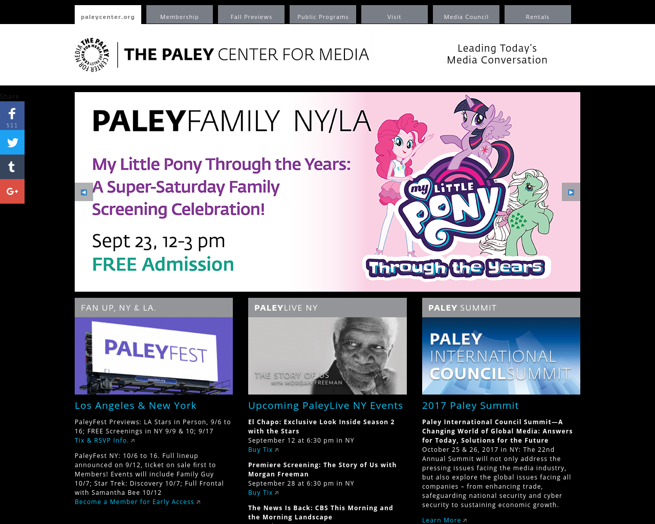 PaleyCenter.org-Advertising-Reviews-Pricing