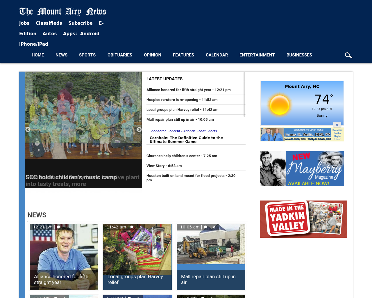 Mount-Airy-News-Advertising-Reviews-Pricing