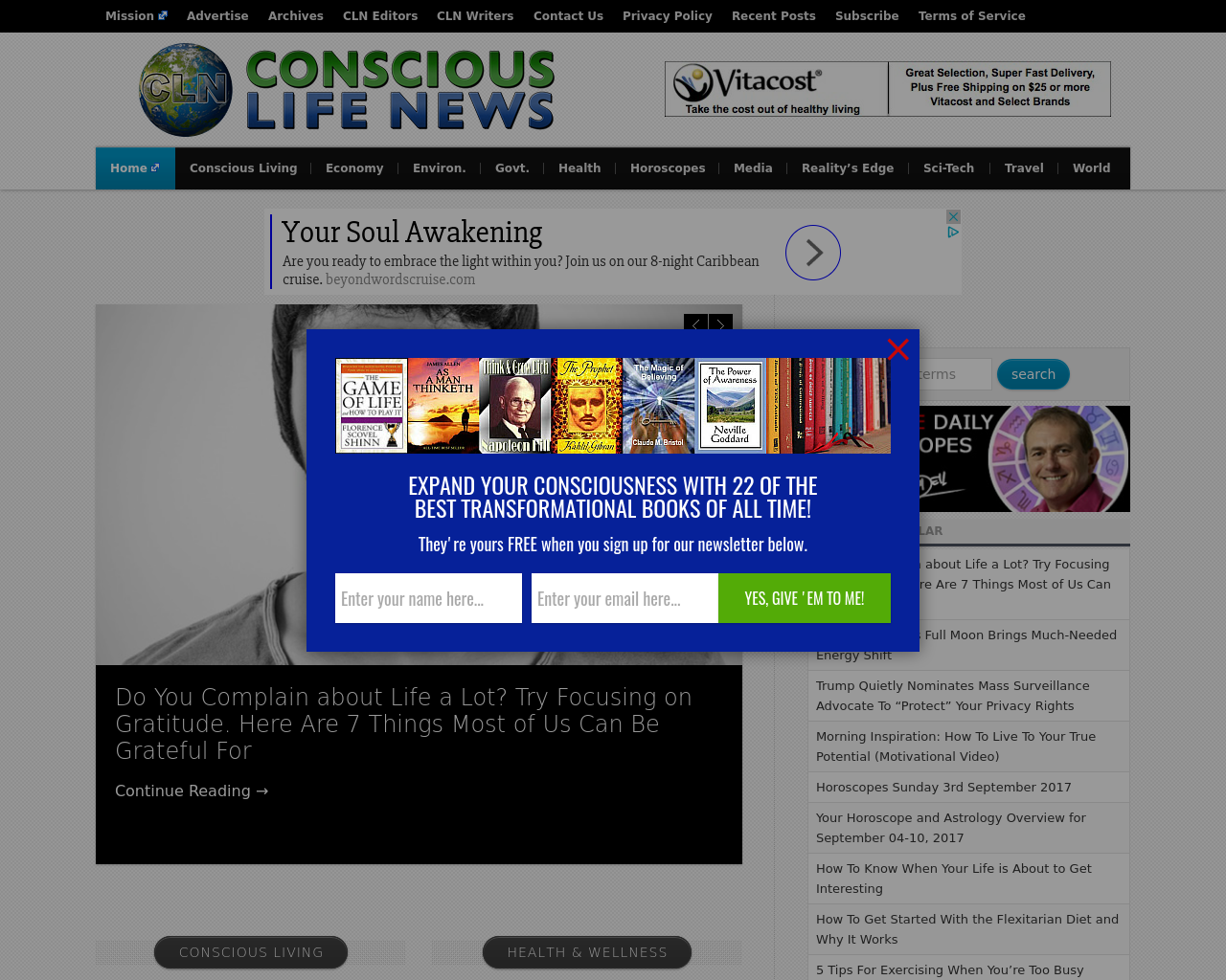 Conscious-Life-News-Advertising-Reviews-Pricing