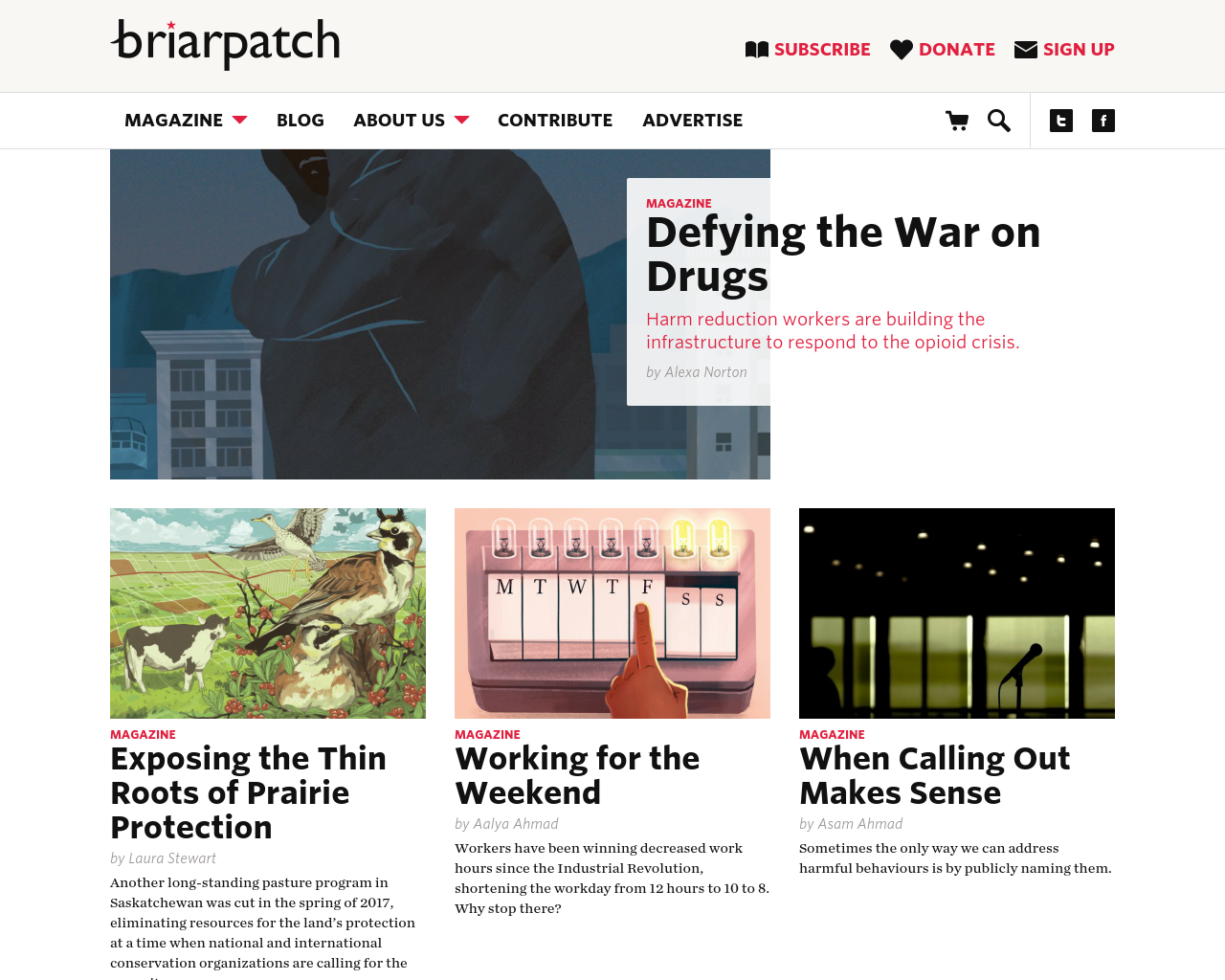 Briar-Patch-Magazine-Advertising-Reviews-Pricing
