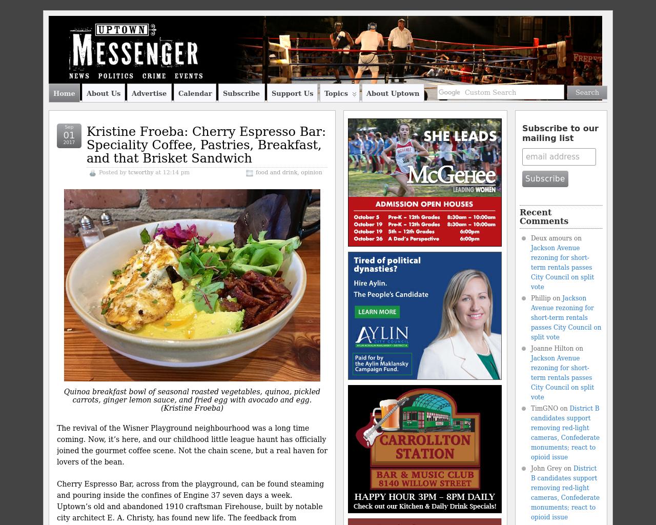 Uptown-Messenger-Advertising-Reviews-Pricing