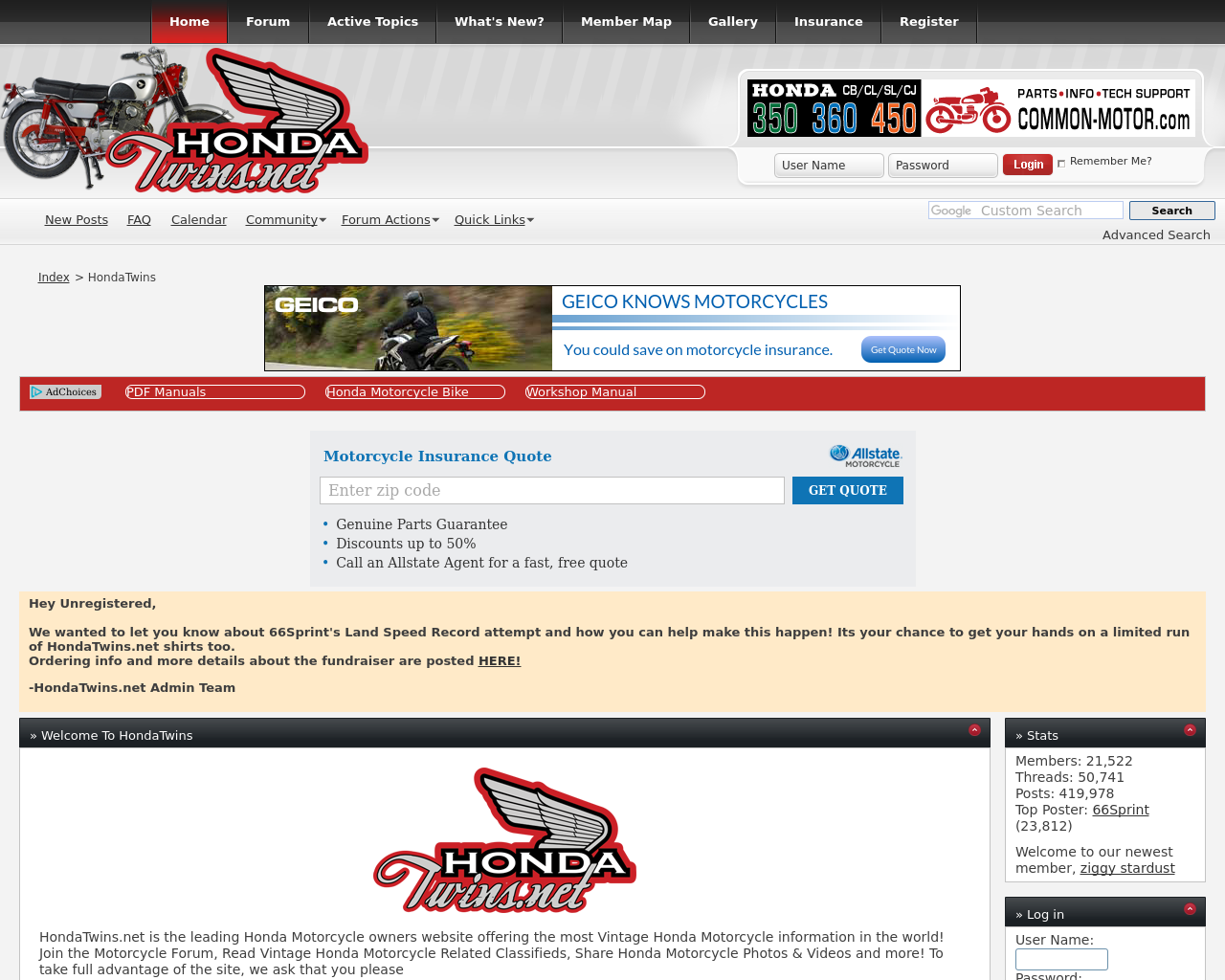 HondaTwins-Forum-Advertising-Reviews-Pricing