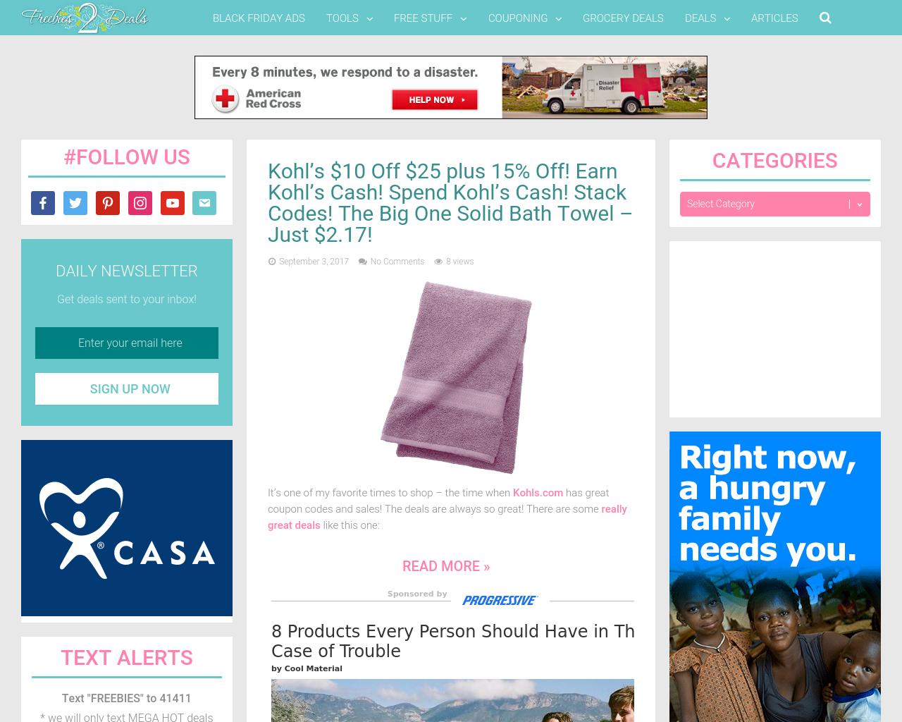Freebies2deals-Advertising-Reviews-Pricing