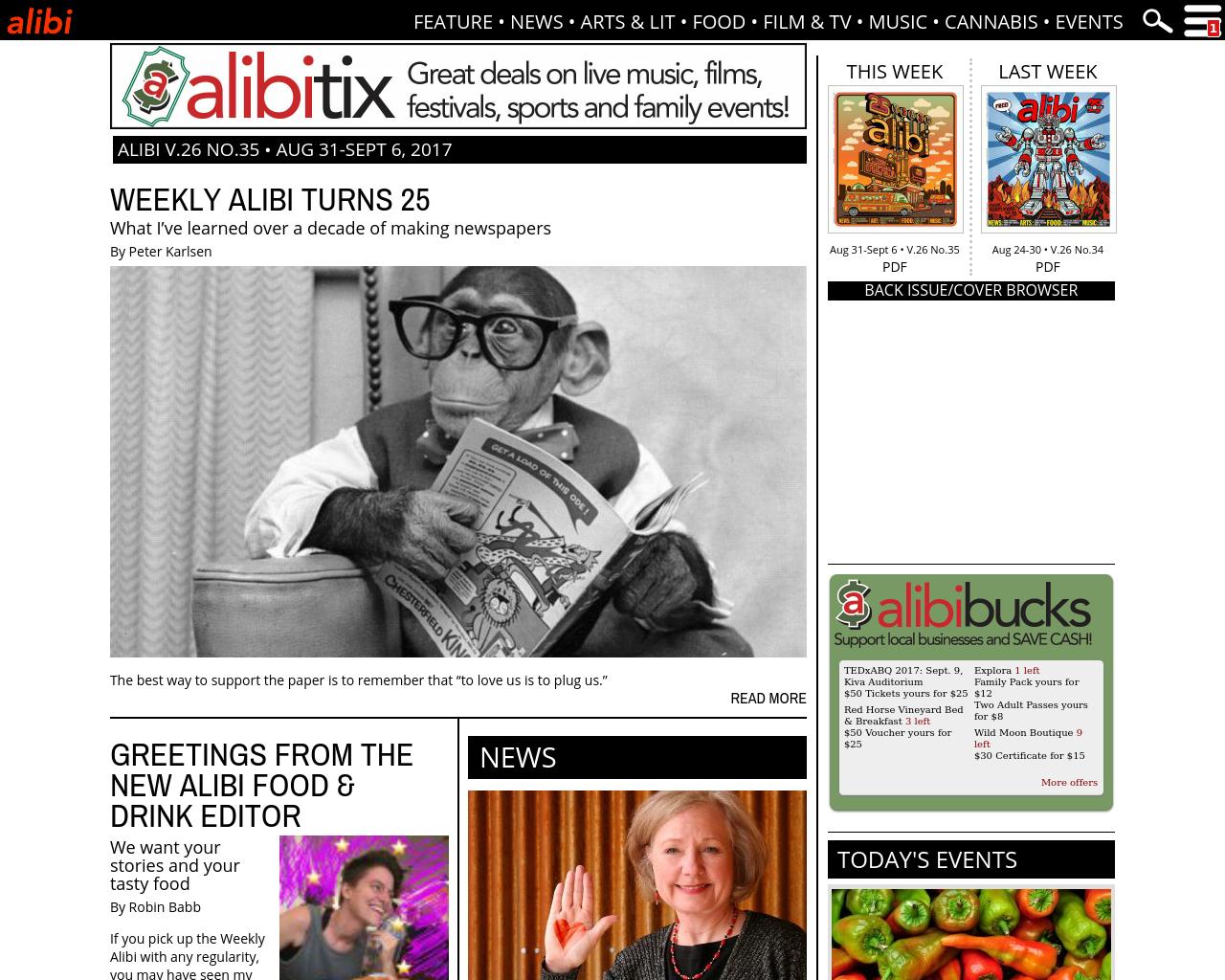 Weekly-Alibi-Advertising-Reviews-Pricing