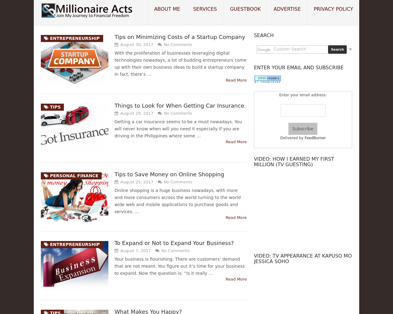 Millionaire-Acts-Advertising-Reviews-Pricing