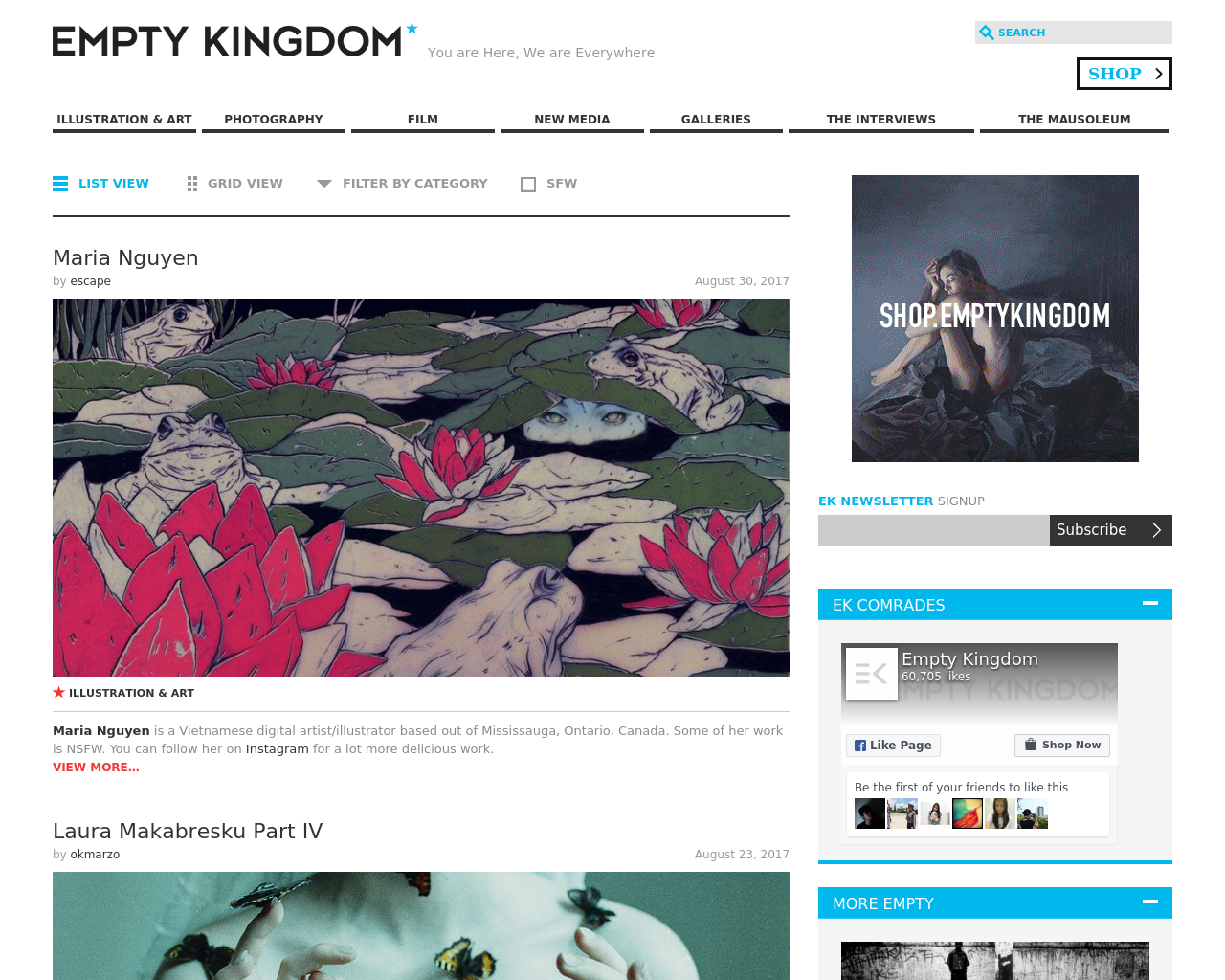EMPTY-KINGDOM-Advertising-Reviews-Pricing