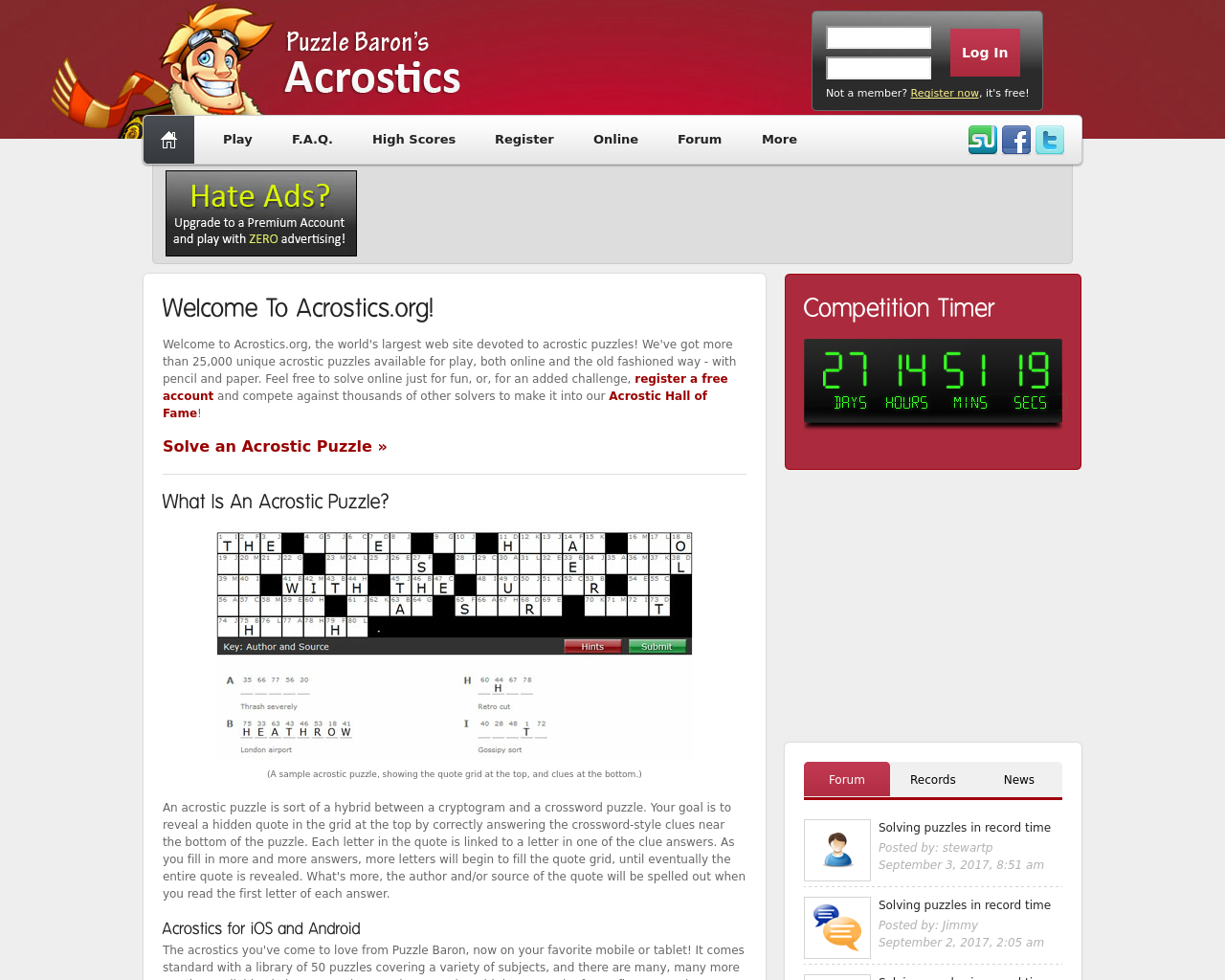 Acrostics-Advertising-Reviews-Pricing