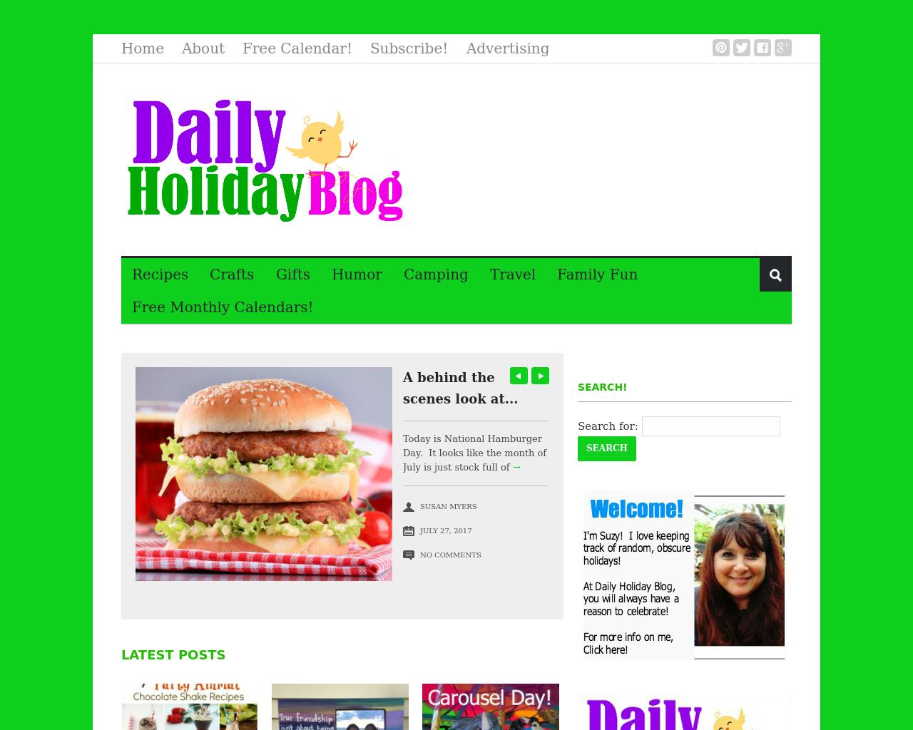 Dailyholidayblog.com-Advertising-Reviews-Pricing