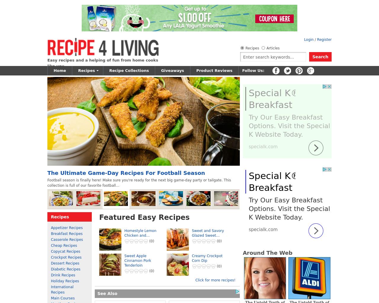 Recipe-4-Living-Advertising-Reviews-Pricing