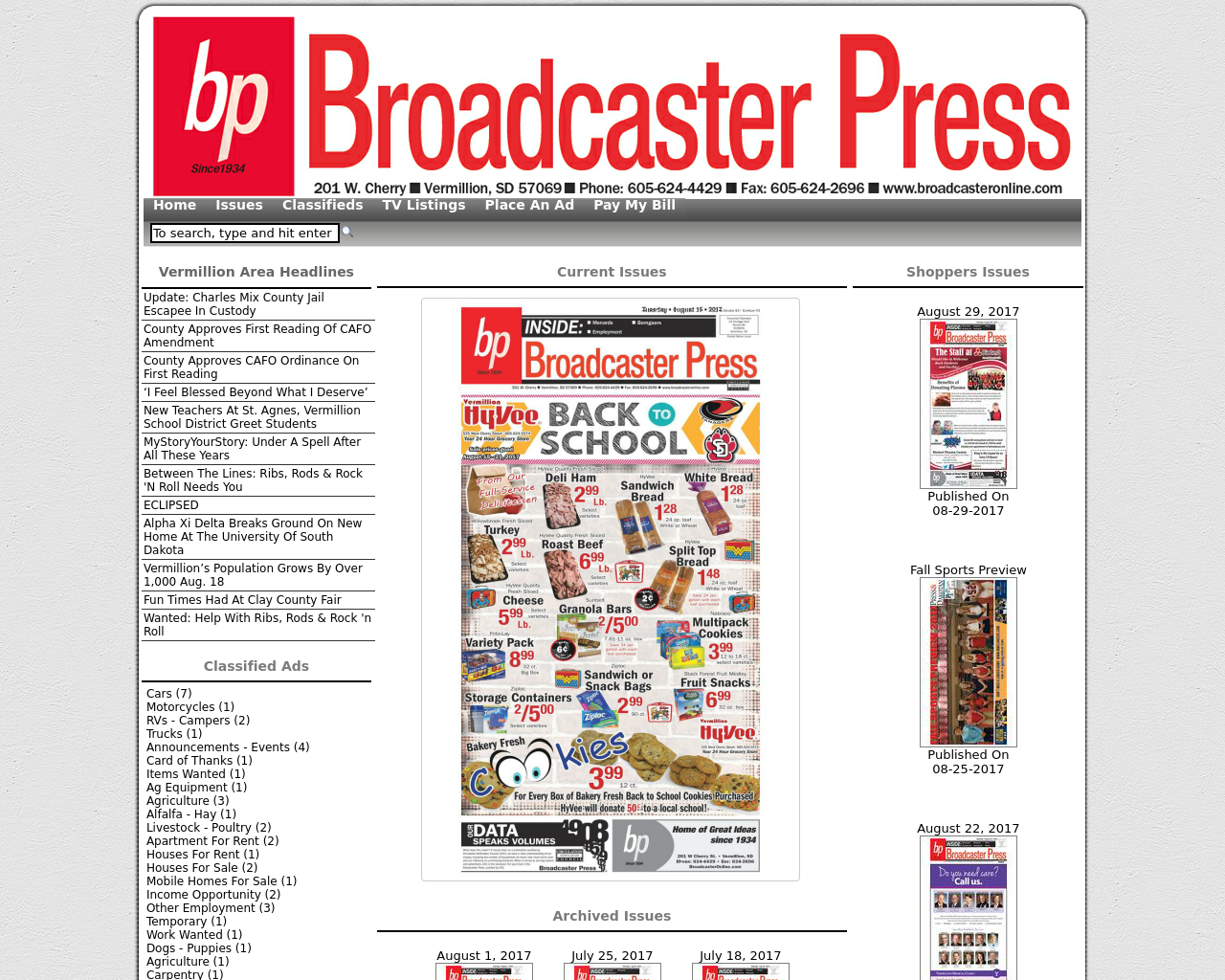 Broadcaster-Press-Advertising-Reviews-Pricing