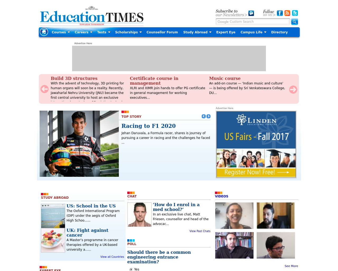 The-Times-Of-India-EducationTimes.com-Advertising-Reviews-Pricing