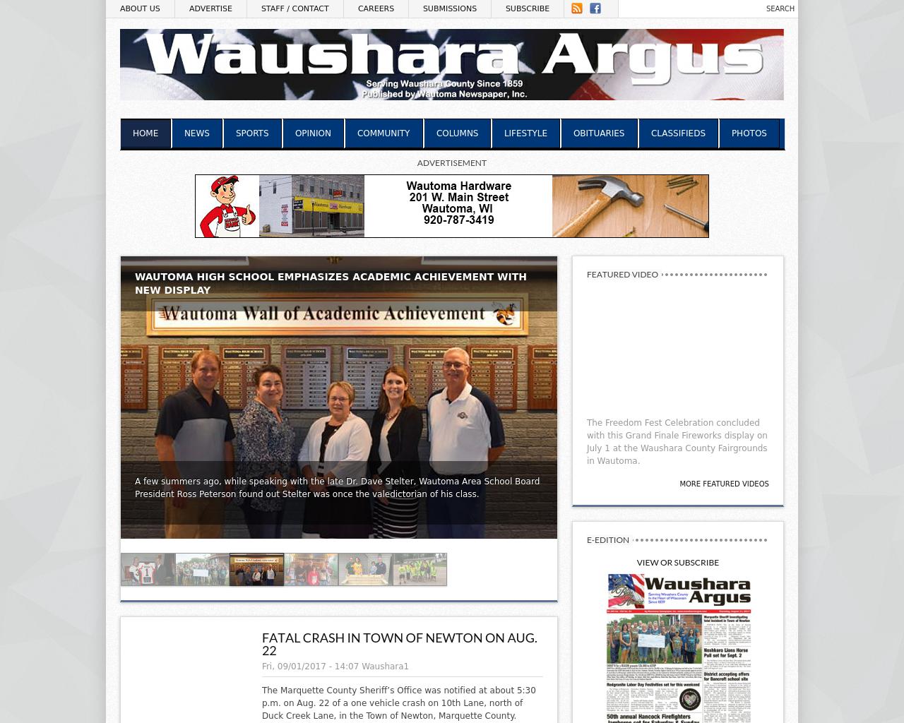 Waushara-Argus-Advertising-Reviews-Pricing