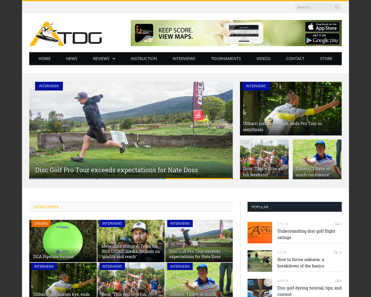 Allthingsdiscgolf.com-Advertising-Reviews-Pricing