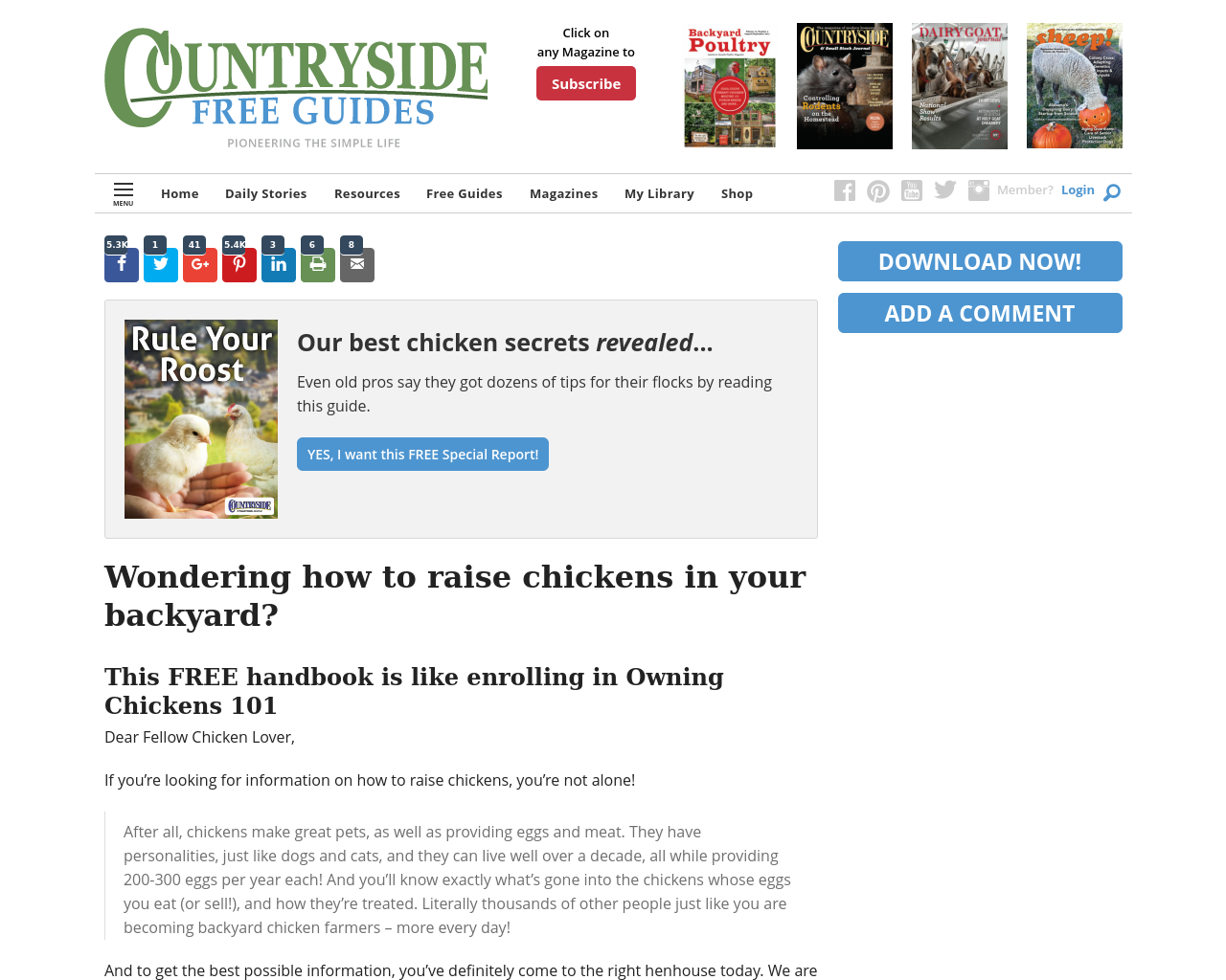 Backyardpoultrymag-Advertising-Reviews-Pricing