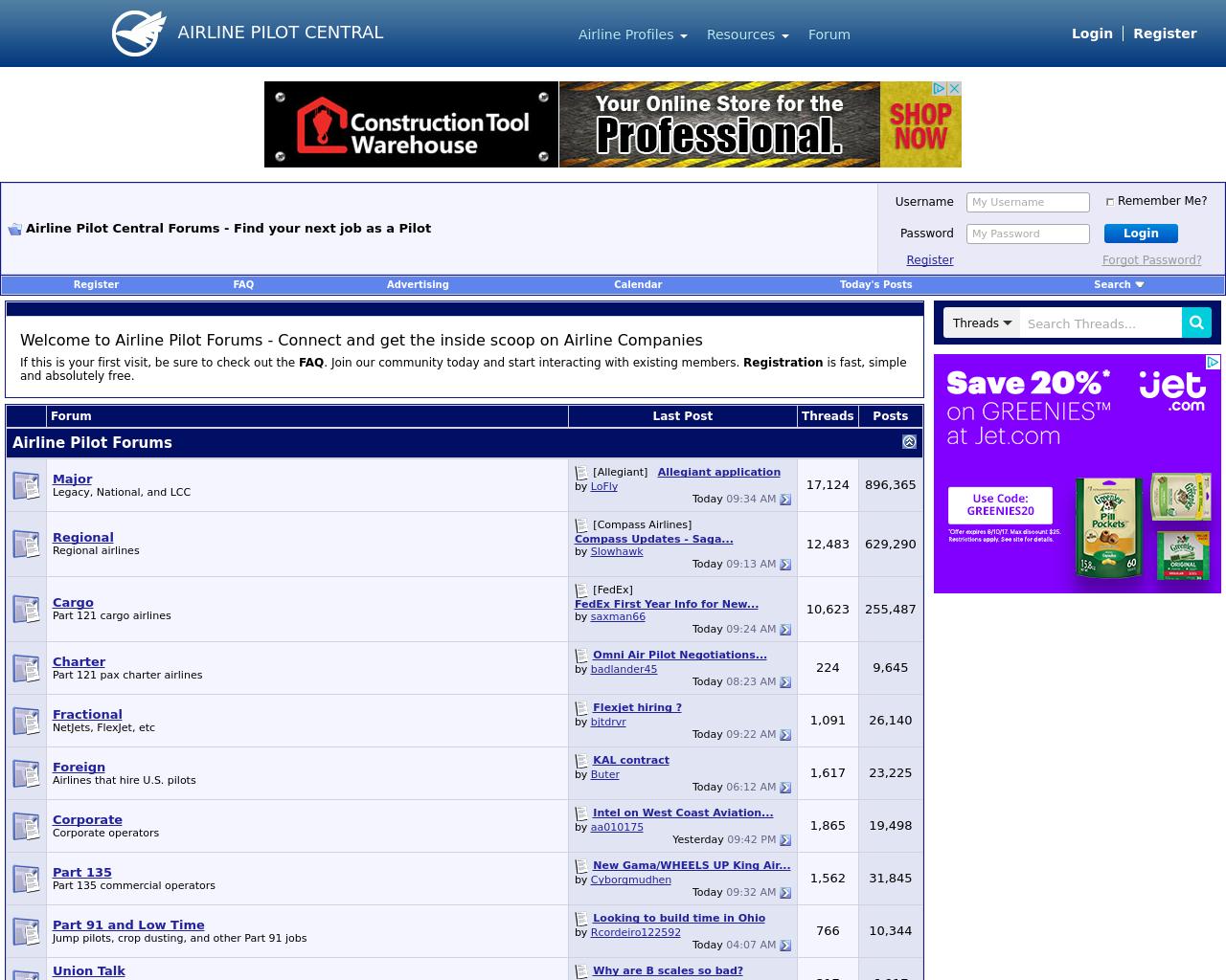 Airlinepilotforums.com-Advertising-Reviews-Pricing