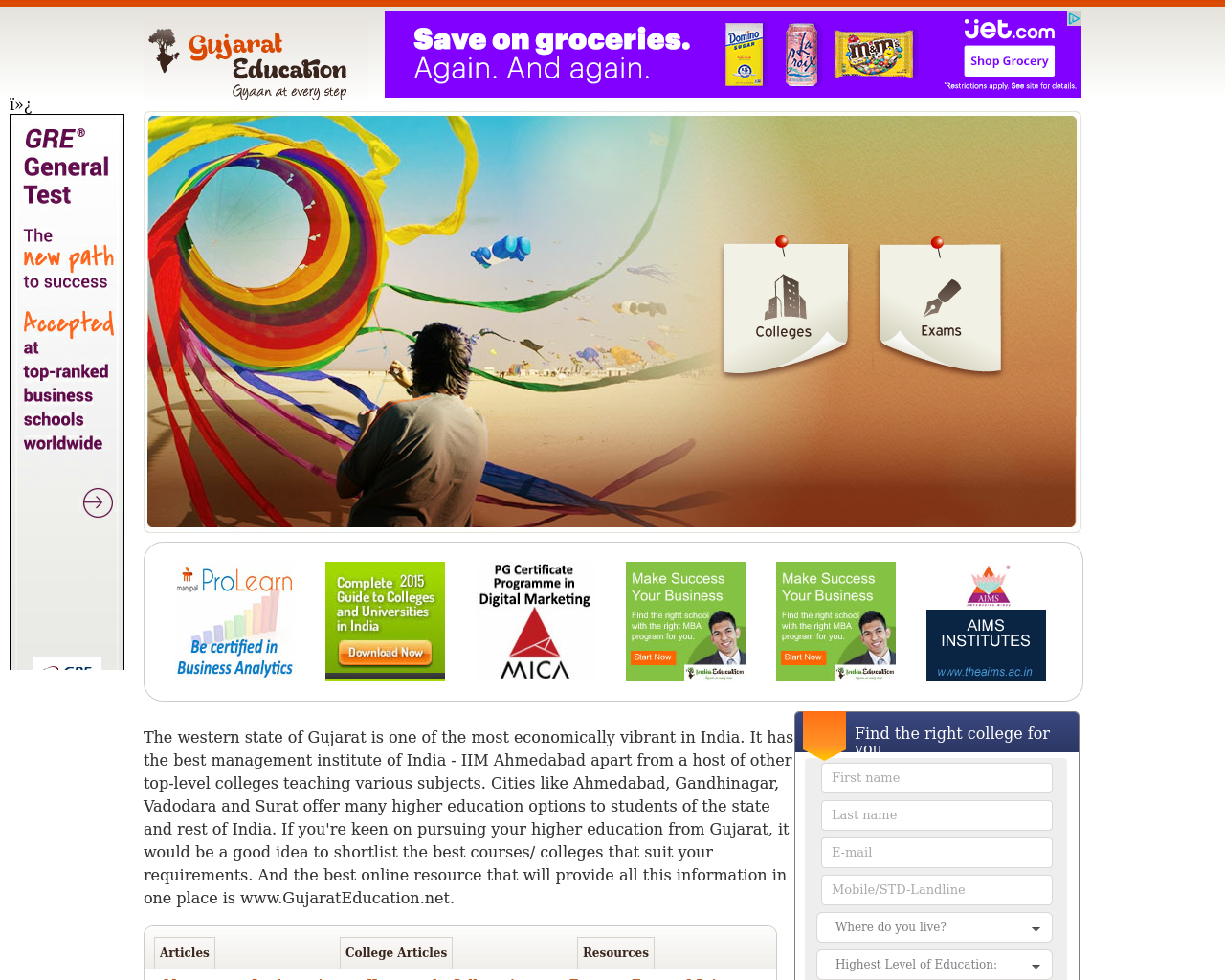 Gujarat-Education-Advertising-Reviews-Pricing