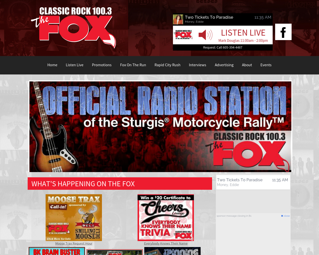 Classic-Rock-100.3-The-Fox-Advertising-Reviews-Pricing